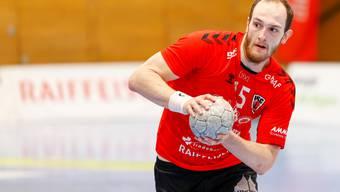 Tim Aufdenblatten, Co-Captain des HSC Suhr Aarau, hat während der Quarantäne zu Hause viel Zeit in sein Studium investiert.