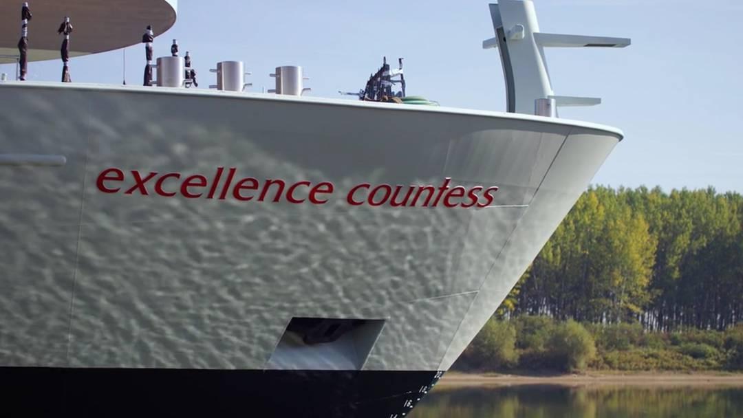 «Erstes Wasser unterm Kiel»: Die erste Episode der Dokumentarfilm-Reihe zum neuen Twerenbold-Flussschiff «Excellence Countess»