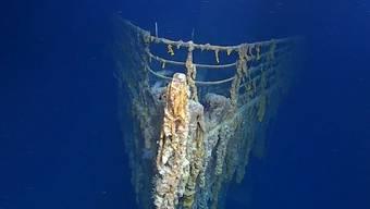 Ein kleines U-Boot hat die Titanic gerammt. Derzeit laufen Untersuchungen zu dem Vorfall. (Archivbild)