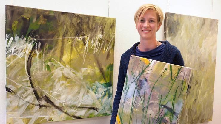 In Annette Jetters Bildern ist die leidenschaftliche Suche der Künstlerin nach der gültigen Form zu spüren.