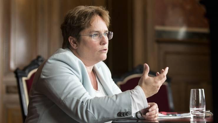 Laut der Medienmitteilung der Partei ist Nationalrätin Magdalena Martullo-Blocher besonders vom Wirtschaftsklimawahn betroffen.