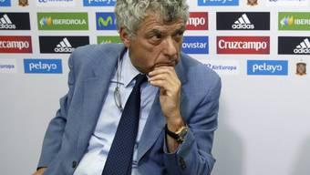 Angel Maria Villar verzichtet aufs die Kandidatur für das Amt des UEFA-Präsidenten