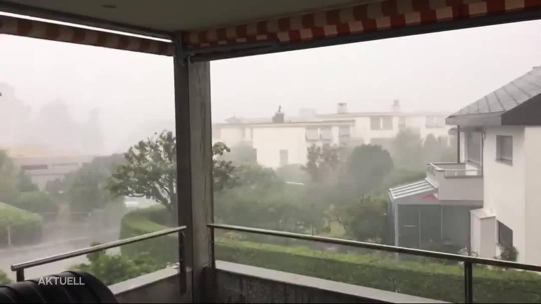 Schweizweit wurden fast 20'000 Blitzschläge registriert