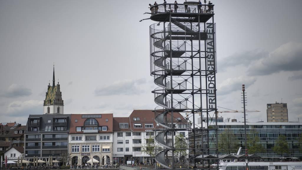 In Friedrichshafen floh am Donnerstag ein Mörder.