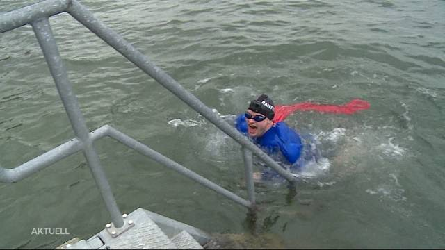 Argovia-Moderator springt ins kalte Wasser