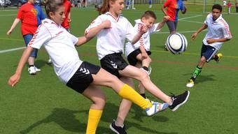HPS-Schüler aus dem Aargau im Fussballfieber
