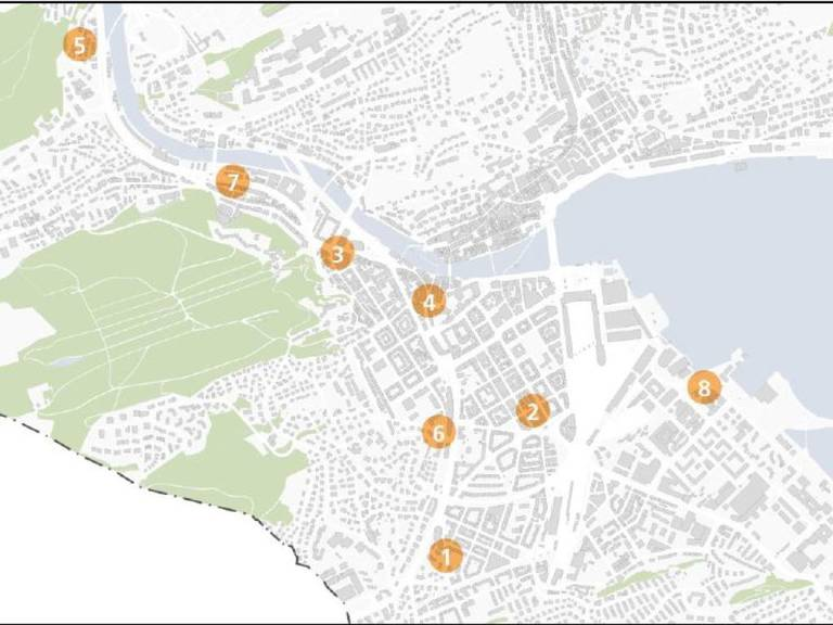 Von der Lindenstrasse bis zum Alpenquai entstehen in der Stadt Luzern in diesem Sommer acht Pop-up-Parks.