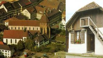Das Verenamünster in Zurzach (links) und das «Schlüeli» in Gontenschwil.