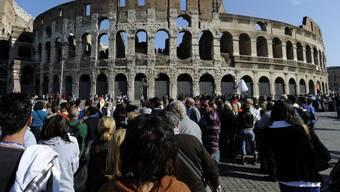 In Italien boomen Museen und historische Sehenswürdigkeiten. Besonders viel Besucherzuwachs verzeichnet das Kolosseum. (Archivbild)