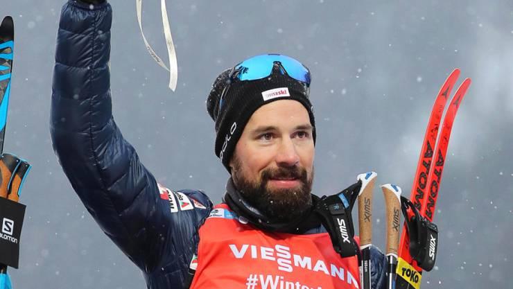 Schöne Erinnerung: Im Januar belegte Weger im nächsten WM-Ort Antholz den starken 6. Platz im Massenstart-Rennen