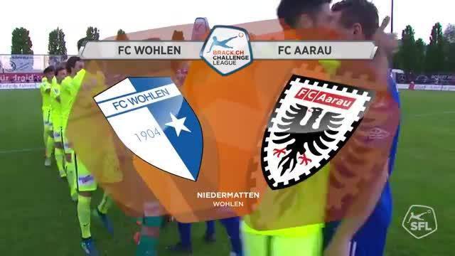 Challenge League, 2017/18, 32. Runde, FC Wohlen - FC Aarau Highlights