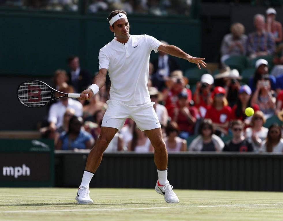 Federer gegen Dolgopolov (© KEYSTONE/EPA)