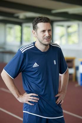 Carlos Varela beim ersten Training beim FC Wohlen
