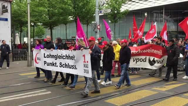 1. Mai-Demonstration 2018 in Basel