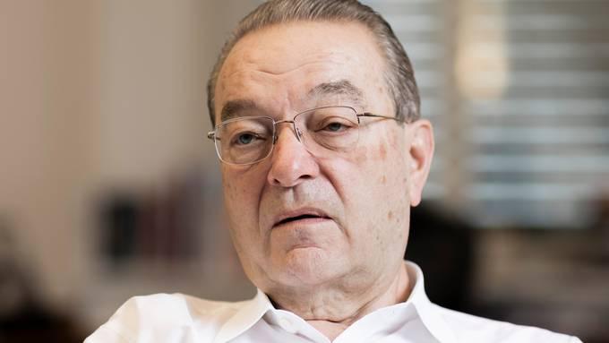 «Anfällig für eine Korrektur:» Oswald Grübel rechnet in den kommenden zwölf Monaten mit einem heftigen Rücksetzer an der Börse.