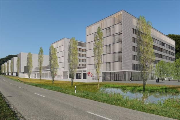 Für den geplanten Innovationsstandort Park Innovaare in Villigen fehlt noch viel Geld. Im Idealfall erfolgt der Spatenstich im Sommer.