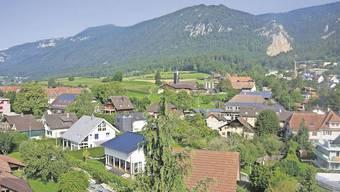 OberdorfOberdorf zeichnet sich durch eine ausgeprägte Hanglage aus. Das hat Auswirkungen auf die Gebäudehöhen.