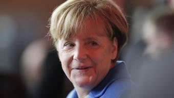 Bald gibt es Angela Merkels wie Sand am Meer: Schon wieder haben Flüchtlinge in Deutschland ihr Baby nach der Kanzlerin benannt (Archiv)