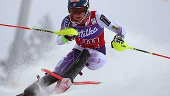 Mikaela Shiffrin führt in Aspen nach dem 1. Lauf