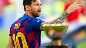 Einer der drei Finalisten: Lionel Messi