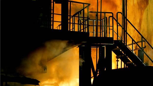 Die Stahlherstellung in Gerlafingen braucht viel Energie. Felix Gerber