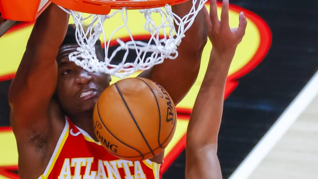 Endlich wieder ein Sieg der Atlanta Hawks