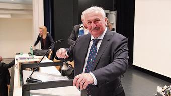 Edi Brunner leitete seine letzte Sitzung im Einwohnerrat.