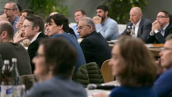 Die CVP (Reihe hinten) will ihre Stärke im Rat halten. Archiv/Sandra Ardizzone