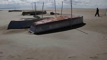 Ausgetrockneter See in Bolivien: Wegen einer schweren Dürre sind im südamerikanischen Land in den vergangenen fünf Monaten geschätzte 250'000 Rinder schwer bedroht. (Archivbild)