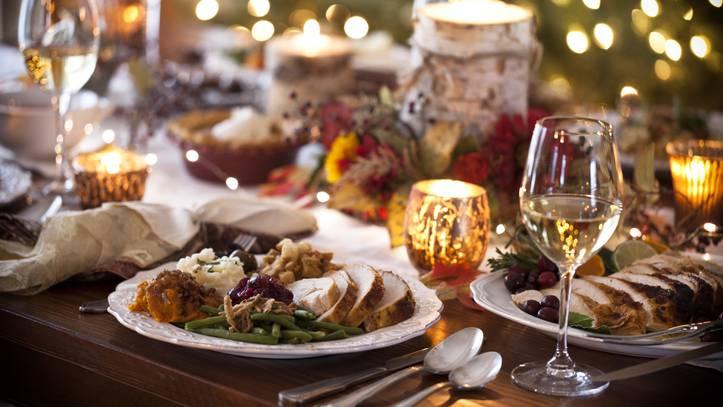 Das Weihnachtsessen ist in den meisten Ländern der Höhepunkt des Festes.