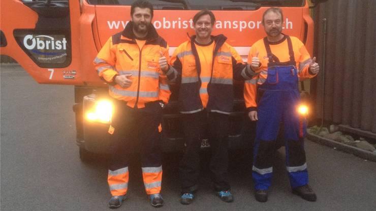 Einen Tag Müllmann sein – die Neuenhofer Firma Obrist Transport und Recycling AG.
