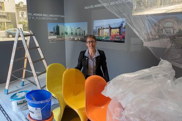 Sabine Horvath möchte mit der Ausstellung Basel in Norditalien bekannt machen.