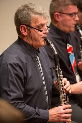 Auch das selten gespielte Bassetthorn ist im Klarinettenchor Wettingen zu hören