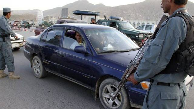Checkpoint in Kabul (Symbolbild)