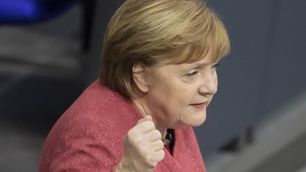 Die deutsche Bundeskanzlerin Angela Merkel. Im Streit um die Blockade des EU-Haushalts hat Berlin mit Ungarn und Polen einen Kompromiss ausgehandelt. Foto: Christoph Soeder/dpa