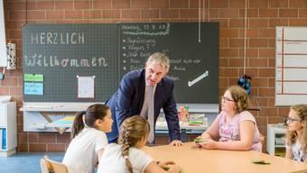 Alex Hürzeler eröffnet das Schuljahr 2018/2019