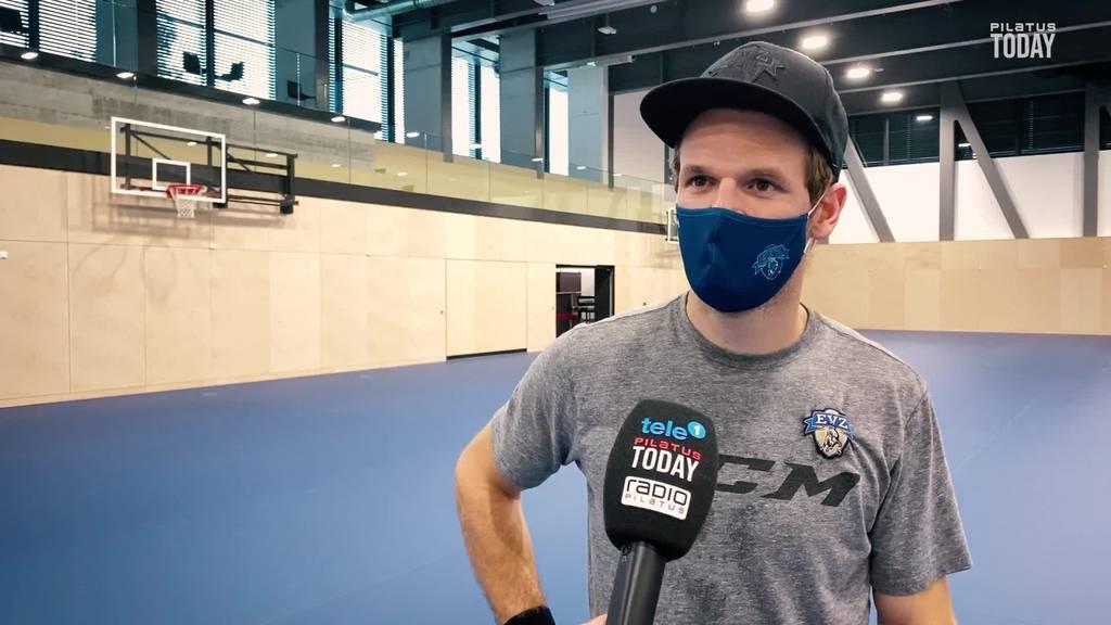 Wieso Badminton EVZ-Goalie Leonardo Genoni zu einem besseren Torhüter macht