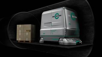 Das Schweizer Tunnelprojekt: Cargo-sous-terrain.
