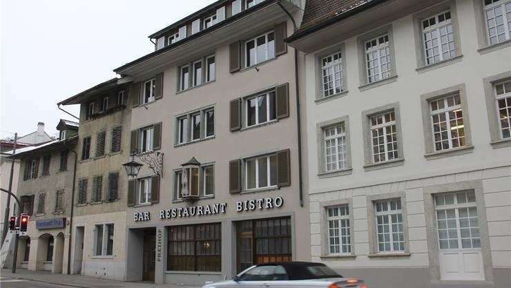 Das Restaurant Freihof mit Bar soll die Brugger Vorstadt beleben. CM