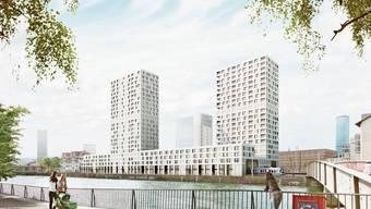 Unten Trams, oben Wohnungen: Über dieses Projekt entscheidet das Stimmvolk am 9. Februar.