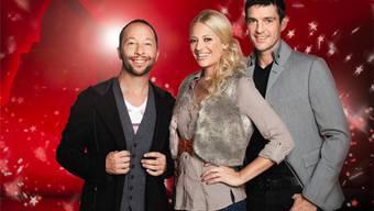 Die Jury: DJ Bobo, Christa Rigozzi und Roman Kilchsberger.