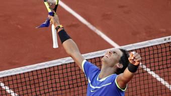 Rafael Nadal marschierte auch im Halbfinal problemlos durch
