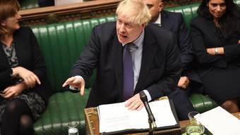 Für den Moment keinen Grund mehr auszurufen: Britischer Premierminister Boris Johnson.
