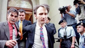 Auch nach Verbüssung seiner Haftstrafe bleibt der als Baby-Quäler bekannt gewordene René Osterwalder in Verwahrung. Ein Antrag auf eine bedingte Entlassung wurde abgelehnt. (Archivbild)