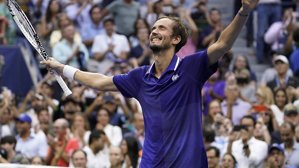 Daniil Medwedew gewinnt im dritten Anlauf seinen ersten Grand-Slam-Titel