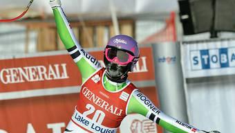 Erneuter Triumph in Lake Louise für Maria Höfl-Riesch.
