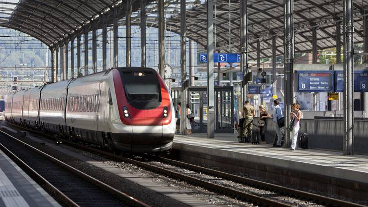 Das Unglück geschah gegen 14.45 Uhr beim Bahnhof Olten. (Archiv)