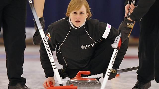 Michèle Jäggi zeigte in Bern erstklassiges Curling
