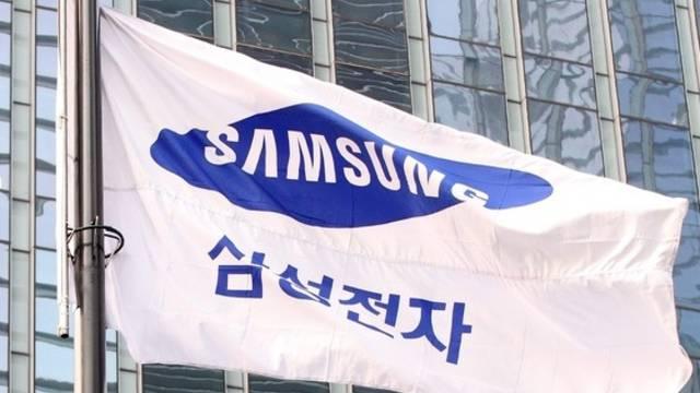 Im Visier der EU: Samsung, hier das Logo des Elektronikkonzerns in Seoul (Archiv)