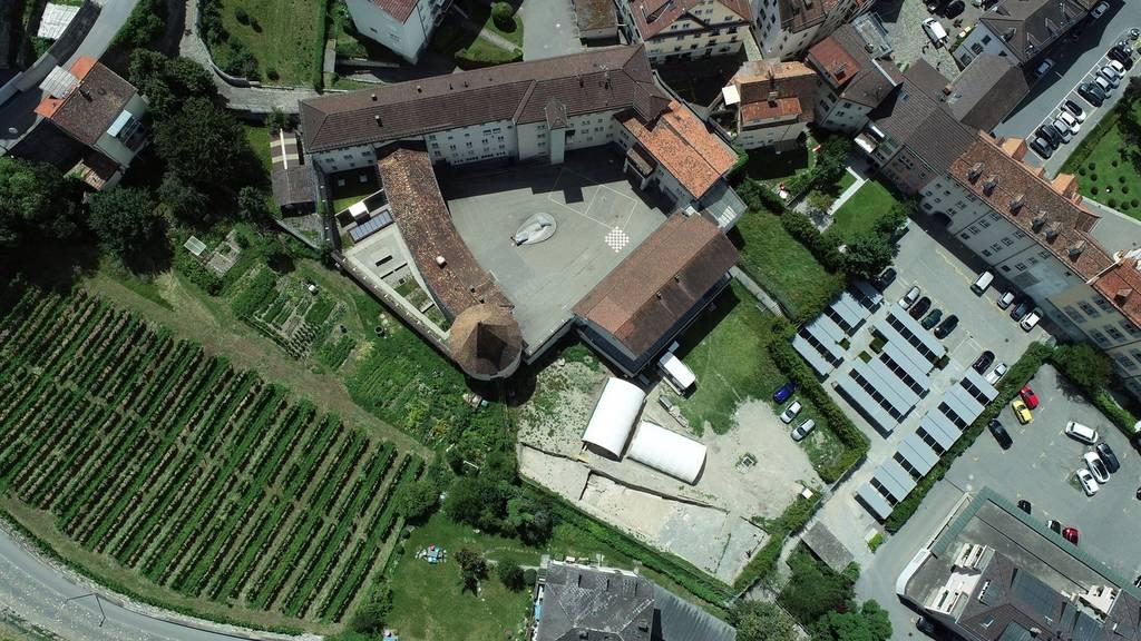 Das Areal beim Sennhof in der Churer Altstadt.